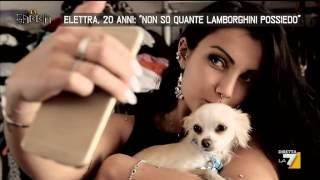 """Elettra, 20 anni: """"Non so quante Lamborghini possiedo"""""""