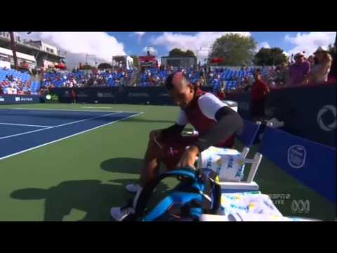Kyrgios booed on and off court in Montreal