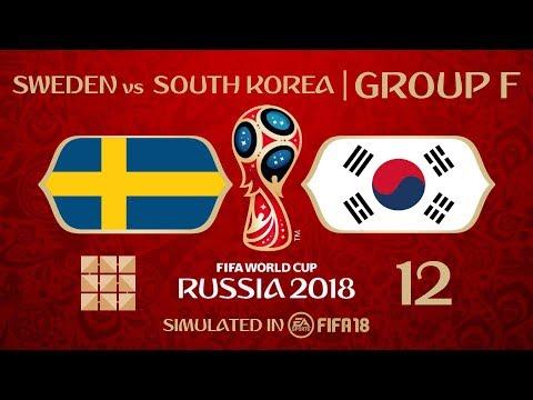 FIFA 18   Virtual World Cup 2018 Simulation 12 - Sweden Vs South Korea   Group F