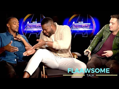 'AVENGERS' Cast On Who's Got Bigger Thighs  Squatting And Smelly Costumes