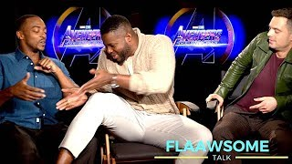 'AVENGERS' (REALLY FUNNY) cast fight ★ Who's Got Bigger Thighs ★ And Smells the WORST