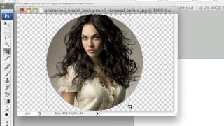 Crop Images in a Circle Shape Using Photoshop
