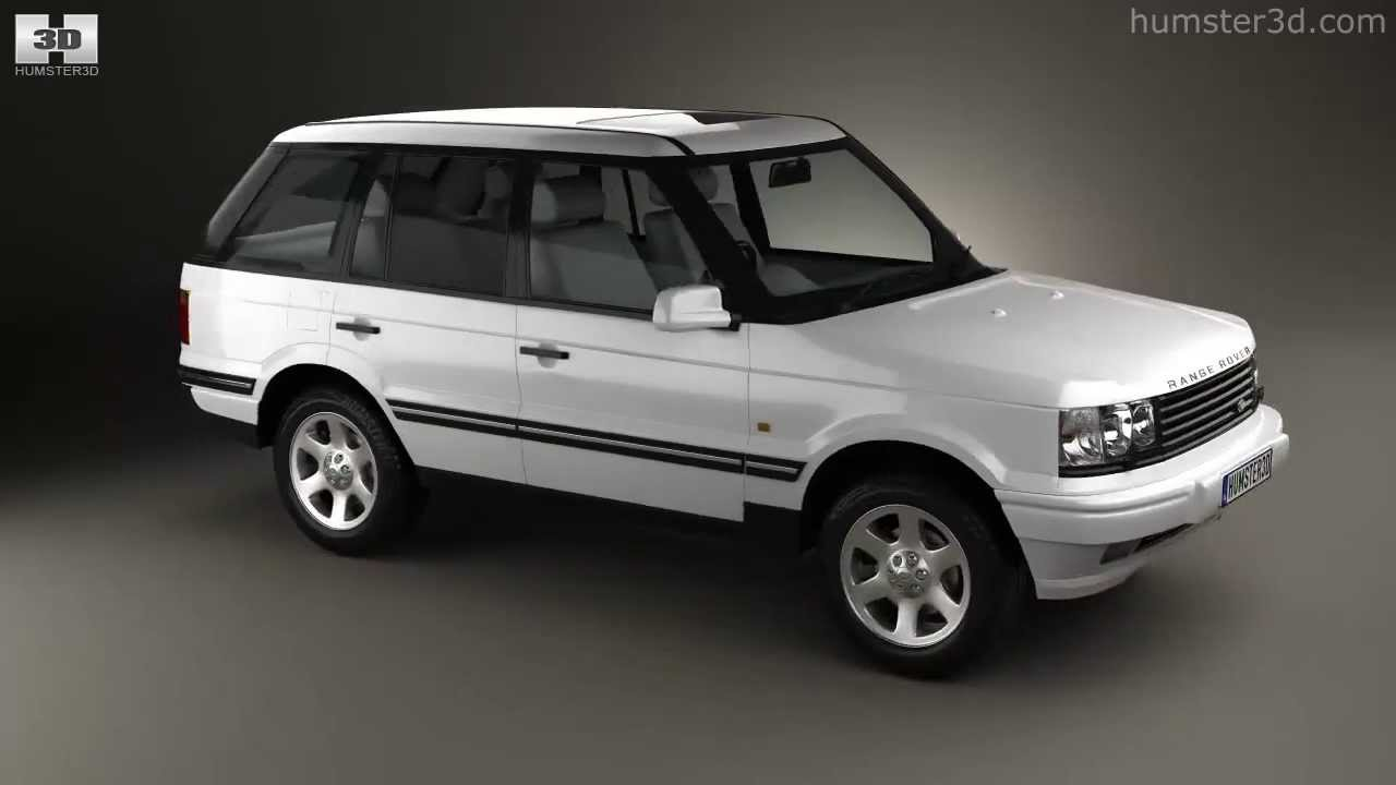 Land rover range rover 1998 by 3d model store humster3d com