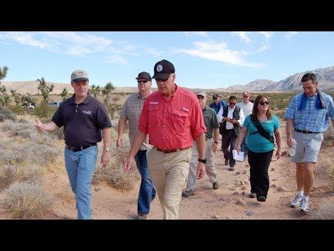 Secretary Zinke Visits New Mexico and Nevada