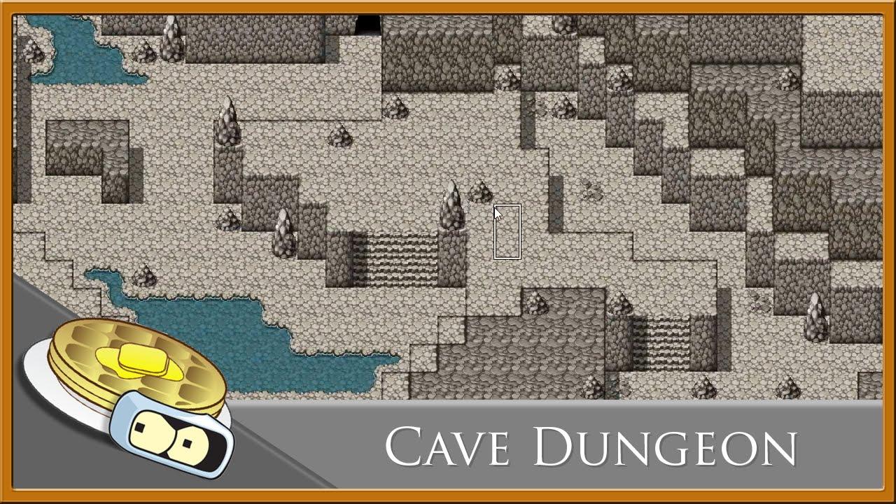 Cave Dungeon Speed Development - RPG Maker MV