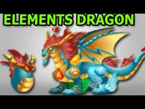 ELEMENTS DRAGON How To Get It In Dragon City Ipad Gameplay