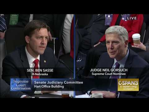 Ben Sasse: Round 1 Questions in Gorsuch Hearing