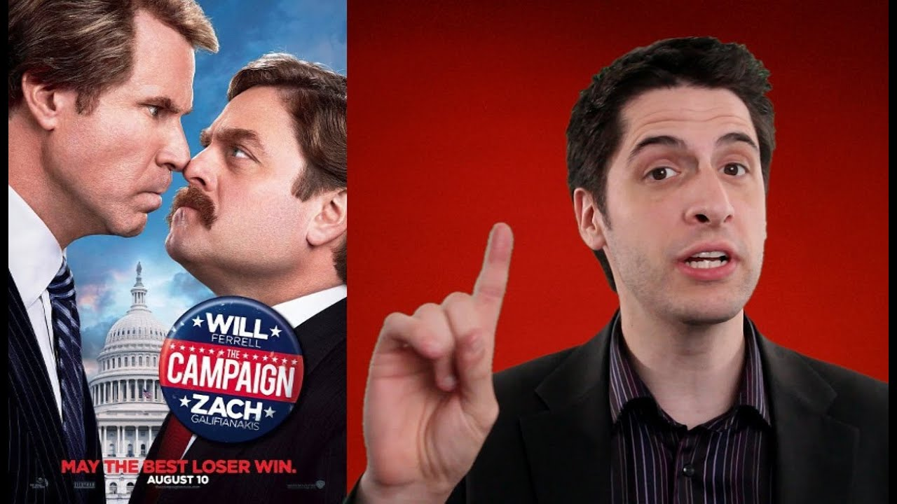 an analysis of the political comedy movie the campaign