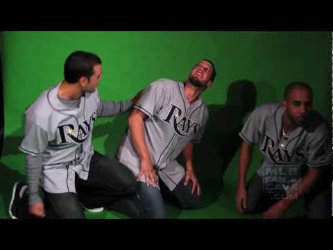 David Price and James Shields Pranked at Fan Cave by Sean Rodriguez