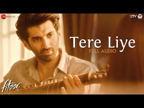 Tere Liye  Full Song  Fitoor  Aditya Roy Kapur, Katrina Kaif  Sunidhi Chauhan & Jubin Nautiyal