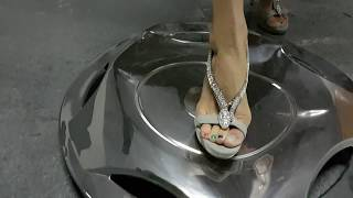 Custom Clip: Hot Metal by high heeled sandals and cigarette