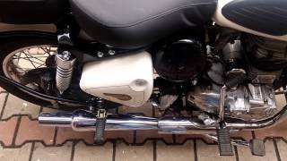 Royal Enfield Ash 2015 with monstor firring..