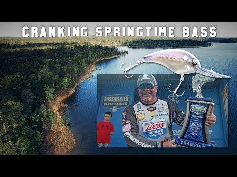 Crankbait Fishing for Springtime Bass: Winning Technique Toledo Bend 2017