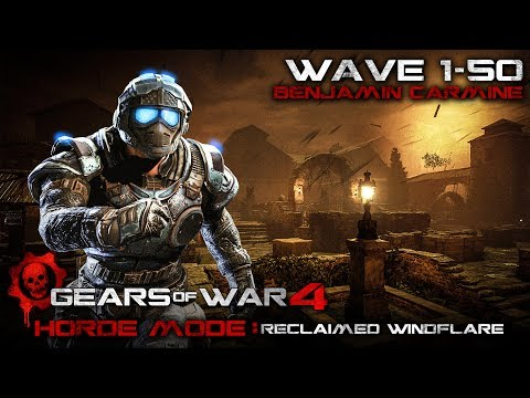 Gears of War 4: Horde Wave 1-50 - Reclaimed Windflare - Sold