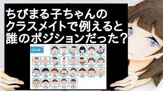 ちびまる子ちゃんのクラスメイトで例えると誰のポジションだった?【2ch】 ちびまる子ちゃん 検索動画 50