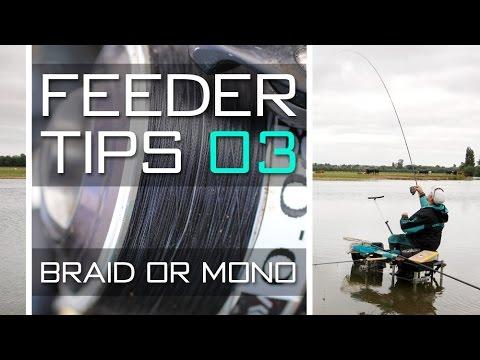 Feeder Tips With Dean Barlow – Braid Or Mono