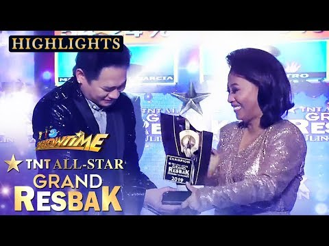 Mark Michael Garcia announces as TNT All Star Grand Resbak Champion | Tawag ng Tanghalan