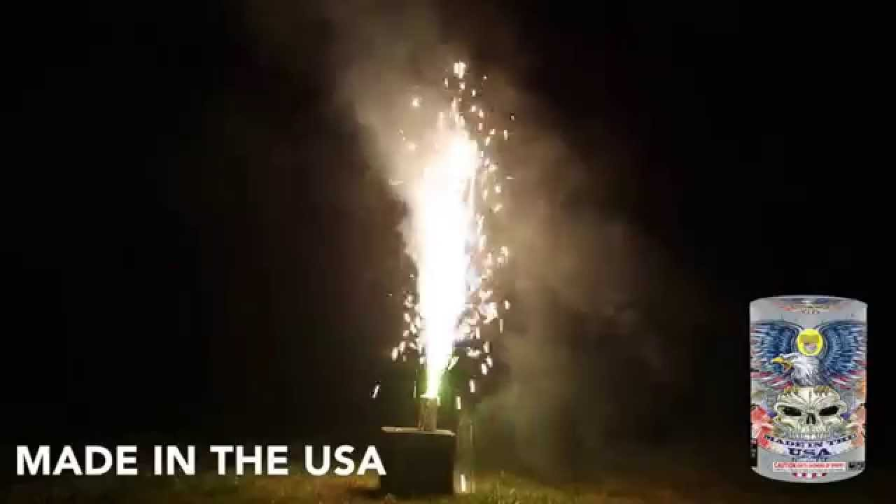 MADE IN THE USA - FOUNTAIN - WORLD CLASS FIREWORKS - YouTube