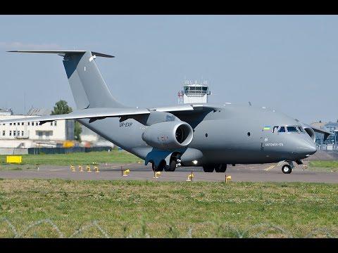 An-178 military transport aircraft