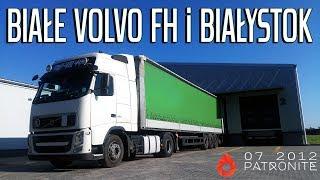 Białym Volvo FH przez Białystok | KrychuTIR™