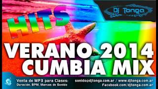 Enganchado Cumbia Remix Verano 2014 - Lo mas nuevo - HITS MIX