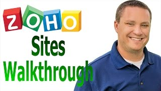Create a website using Zoho sites - Short Version