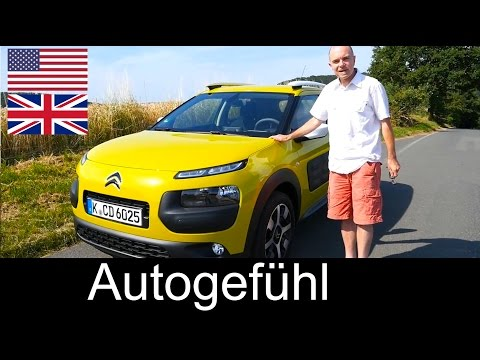 All-new Citroen C4 Cactus test drive review ENGLISH – Autogefühl