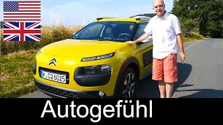 All-new Citroen C4 Cactus test drive review ENGLISH - Autogefühl