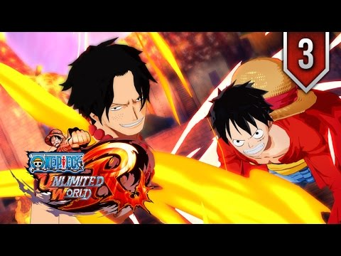 One Piece: Unlimited World Red ★ Episode 3 ★ Movie Series / All Cutscenes + Boss Fights 【ENDING】