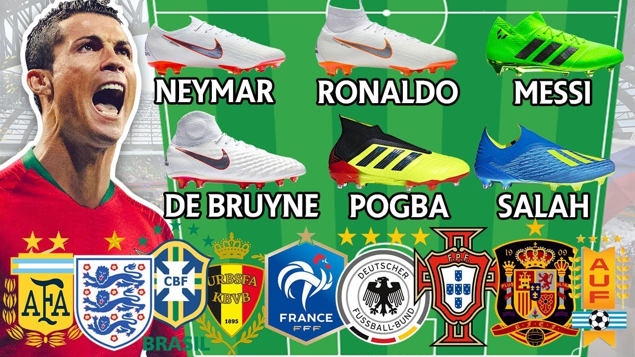 Unreal World Cup Lineups! Which Football Team Has The Best Boots?!