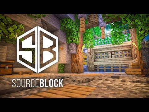 SourceBlock Minecraft SMP Ep. 1 My New Home