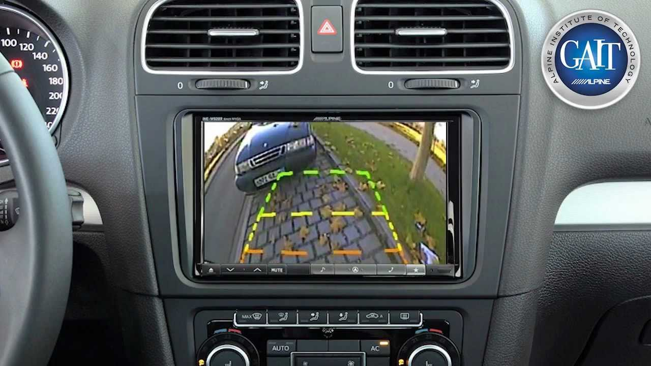 Alpine Ine W928r 8 Inch Screen Incar Tech Youtube