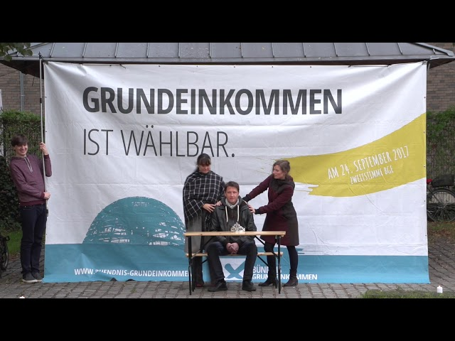 International Basic Income Week Videothon - Contributions from Germany 2