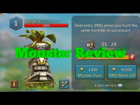 Lords Mobile - The Hardrox Cafe (New Monster Review)