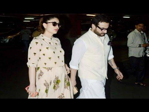 Kareena Kapoor And Saif Ali Khan Off To Dubai For Babymoon