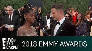 Letitia Wright Talks Frustrating Fan Encounters at 2018 Emmys | E! Red Carpet & Award Shows
