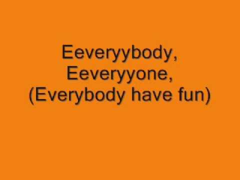 Wang Chung-Everybody have fun tonight, lyrics