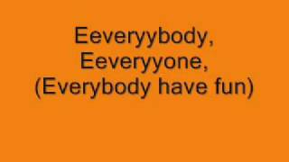 Wang Chung-Everybody have fun tonight, lyrics