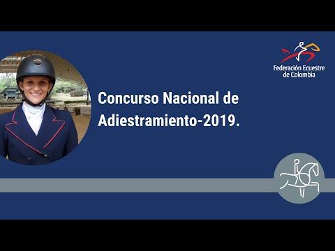Concurso Nacional de Adiestramiento-2019