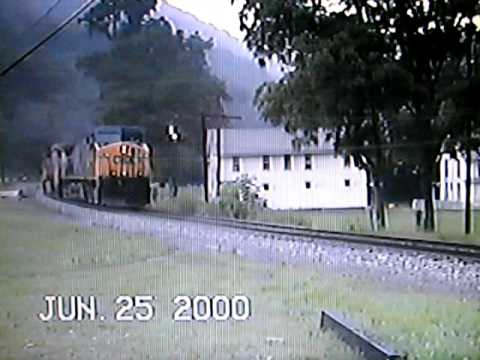CSX Coal Train at Rowlesburg, West Virginia