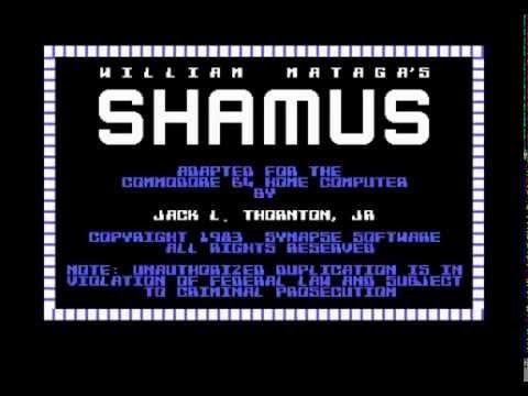 Commodore 64 Crypt - Shamus