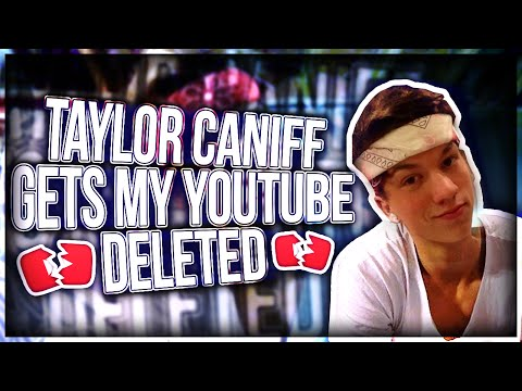 Thumbnail: TAYLOR CANIFF GETS ME BANNED ON YOUTUBE(DISS TRACK)