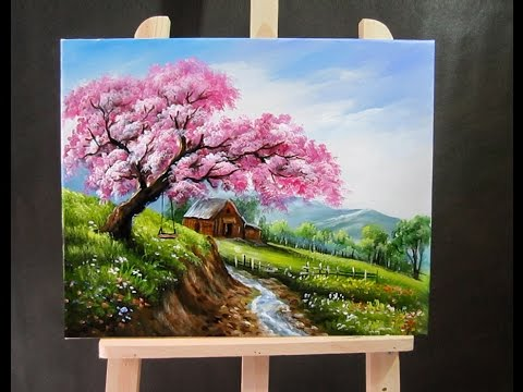 How To Paint Landscapes With Acrylics For Beginners
