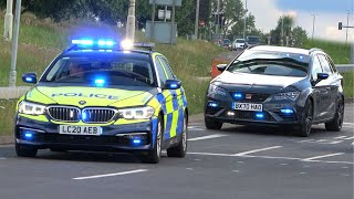 NEW POLICE INTERCEPTORS & Unmarked Cars Responding to Stolen car CHASE!