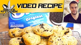 Cookies & Cream Oreo Cookies | Nicko's Kitchen
