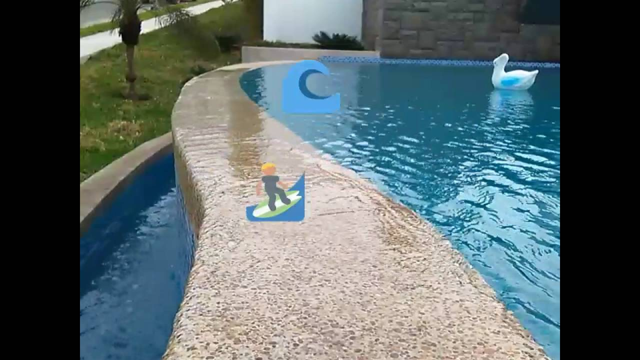 Piscinas con borde infinito youtube for Como construir una pileta de agua