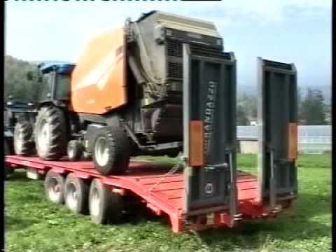 Rimorchi agricoli randazzo carrello tridem in azione for Rimorchi randazzo