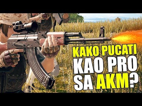 PUBG: Kako Pucati