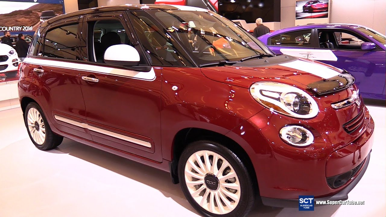 2016 Fiat 500L Lounge - Exterior and Interior Walkaround - 2016 ...