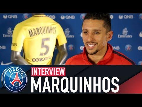 """MARQUINHOS : """"PARIS M'APPORTE BEAUCOUP"""" (FR 🇫🇷)"""